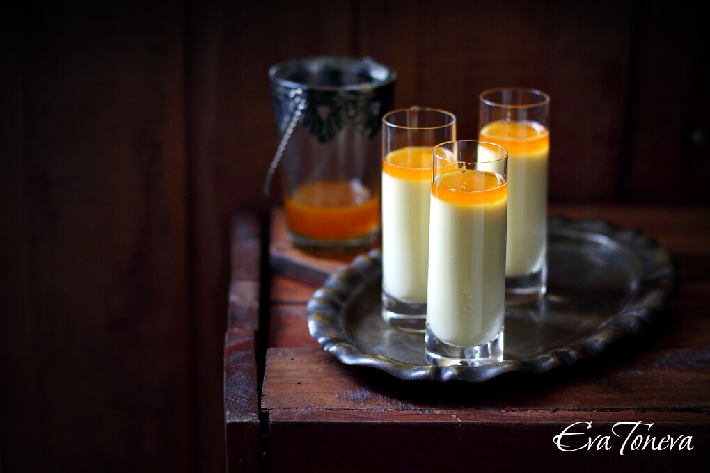 Honey Saffron Panna Cotta1