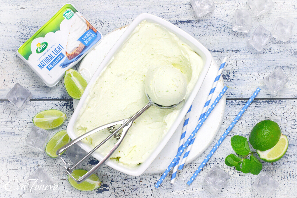 Mojito ice cream1 web
