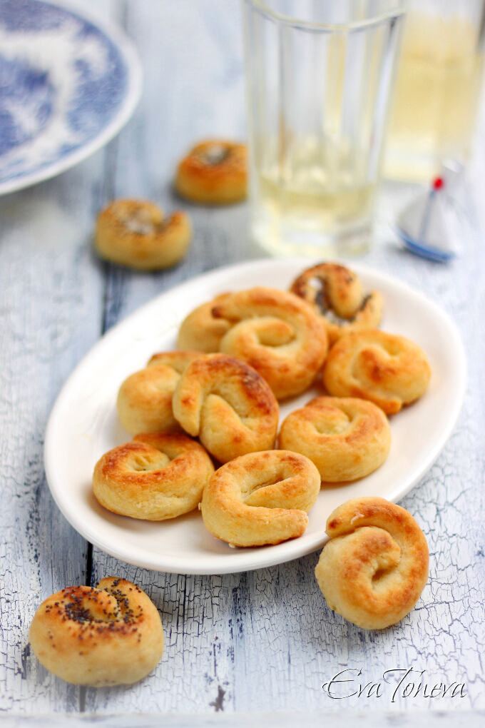 Potato salty rolls