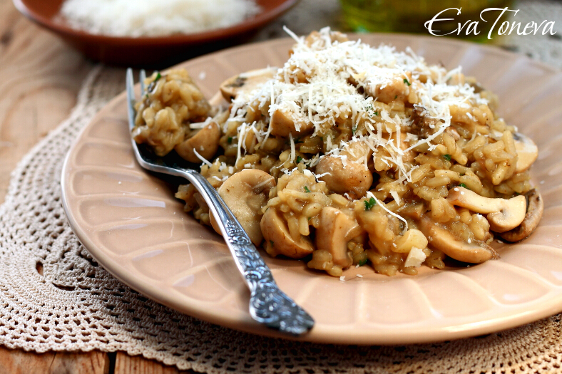Risotto with mushrooms1
