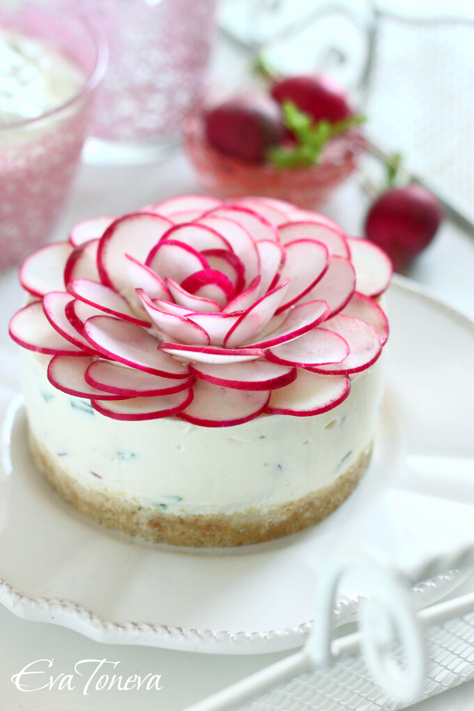 radishes cheesecake1