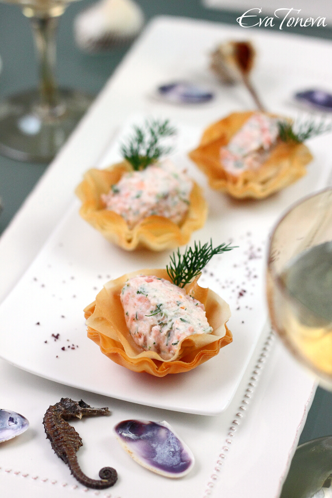Salmon with dill and cheese2