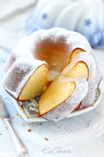 Condensed milk bundt cake small