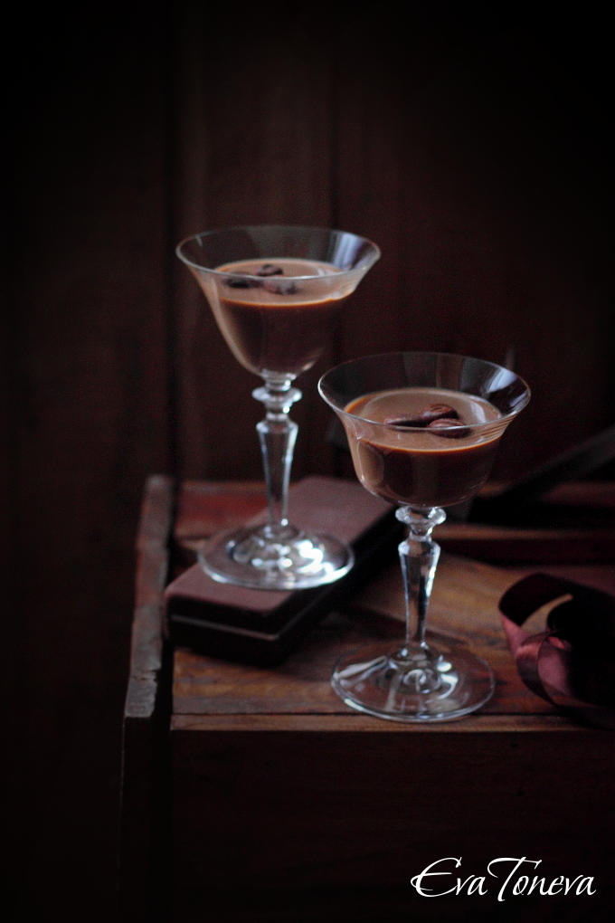 Milk chocolate panna cotta01