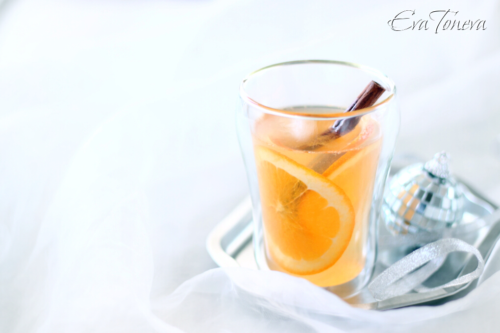 Mulled white wine1