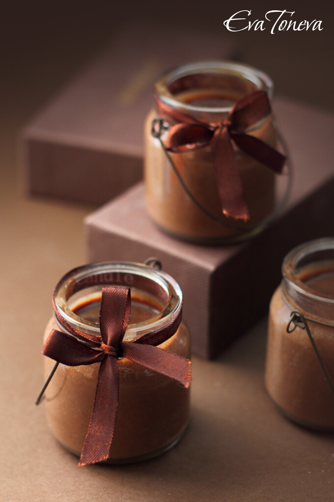 petits pots de creme au nutella. Black Bedroom Furniture Sets. Home Design Ideas