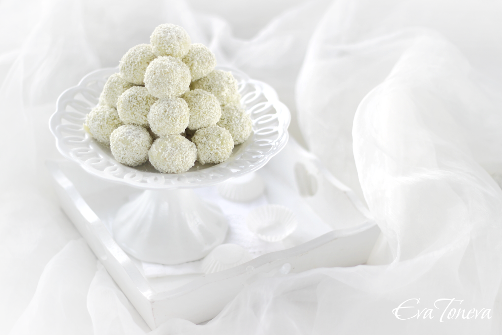 White chocolate pistachio truffles1