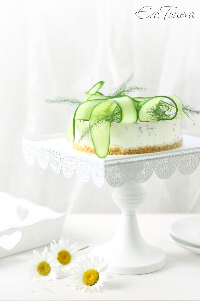 cucumber cheesecake